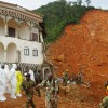 Hundreds dead in mudslide and flooding triggered by heavy rains in Freetown , Sierra Leone